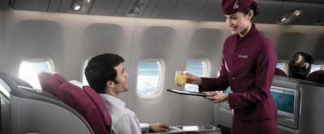 Angebot nach Hong Kong in der Business Class mit Qatar Airways